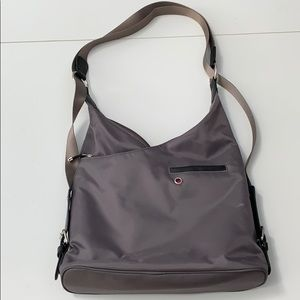 Mosey by Baggallini Grey Shoulder Bag